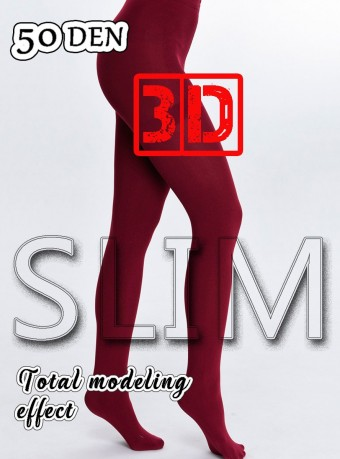 Dres 3D Slim 50 DEN Cherry