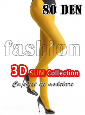 Dres 3D Slim 80 DEN Yellow