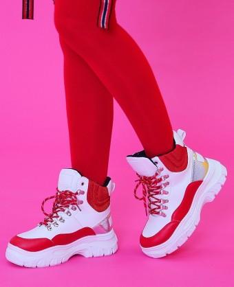 Ghete Sport Y081 Red