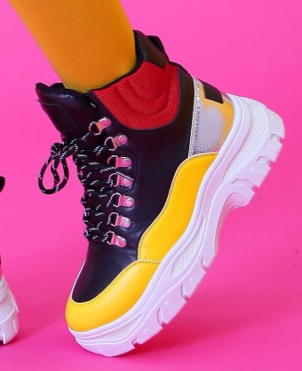 Ghete Sport Y081 Yellow