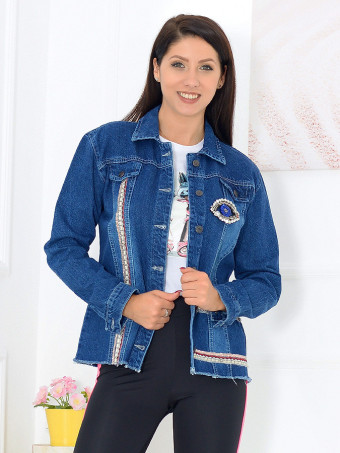 Jacheta Dama Jeans 6201-02