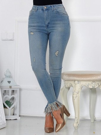 Pantaloni Dama Jeans Collection 587