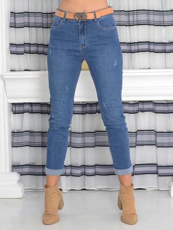 Pantaloni Dama Jeans Masura Mare ZL6507