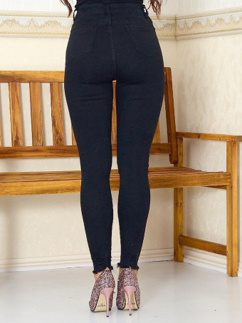 Pantaloni Dama Jeans XP078 Black