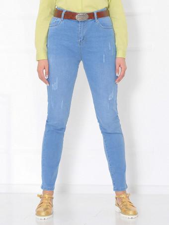 Pantaloni Jeans Masura Mare W9757