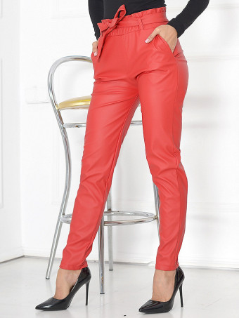 Pantaloni Leather Sheen 02