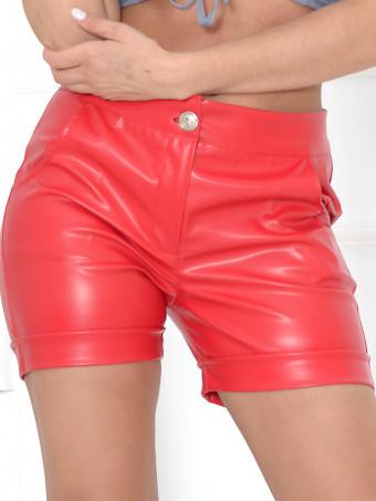 Pantaloni Scurti Leather Ely 02