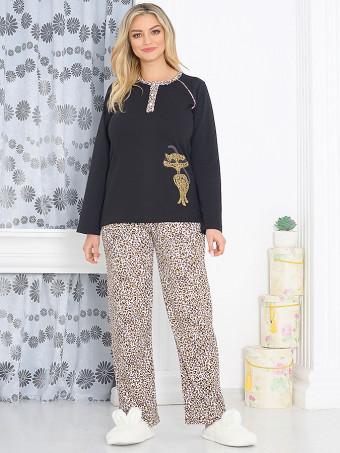 Pijama Dama Baki Animal Print 05