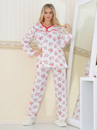Pijama Dama Masura Mare Floris 06