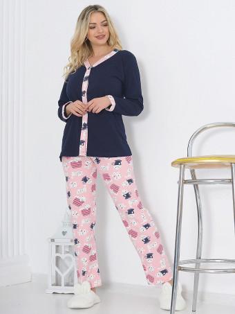 Pijama Dama Masura Mare NALG D0022