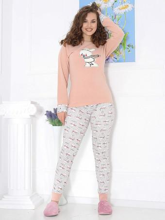Pijama Groasa 4002-01