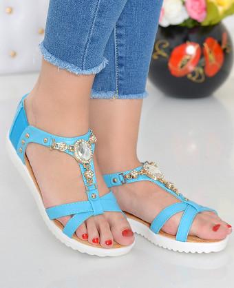 Sandale Glam Blue