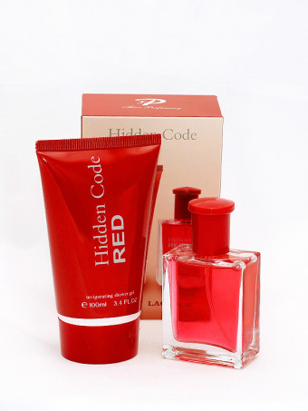 Set apa de toaleta si gel de dus Hidden Code Red 7320