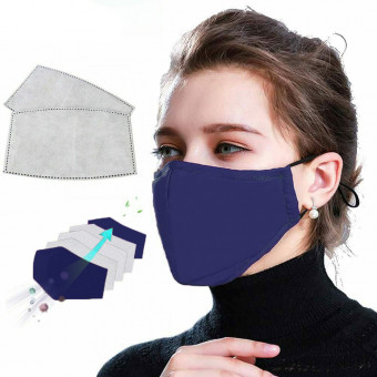 Set de Masca Faciala de Multipla Folosinta MFM si 5 filtre