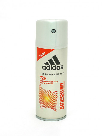 Deodorant Antiperspirant Adidas Adipower 72 H 5152, 150 ml