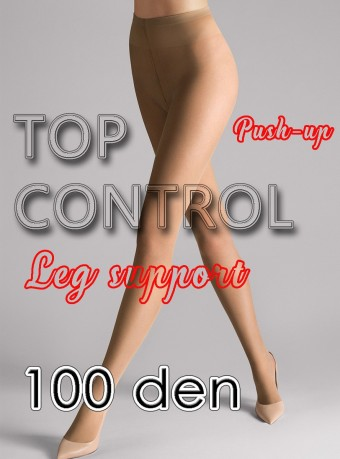 Dres Push-up Top Control 100 DEN Nude