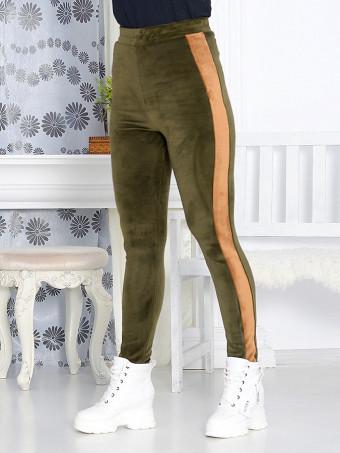 Pantaloni grosi din Catifea Xena 04