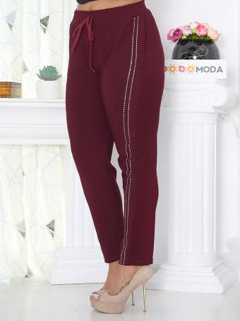 Pantaloni Masura Mare ZH9336 Cherry