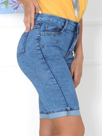 Pantaloni Scurti Jeans Anes 583