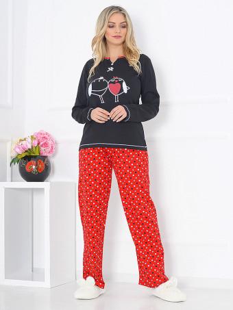 Pijama Dama Baki Dots 03
