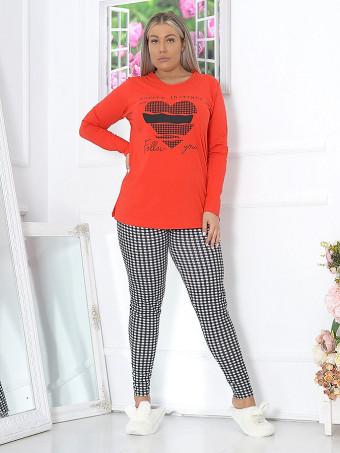 Pijama Dama Masura Mare MBLM 16109