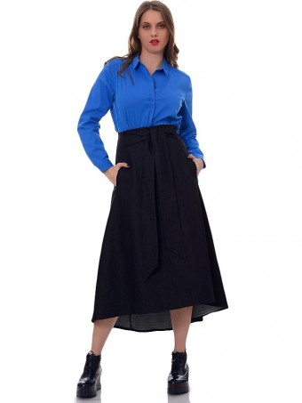 Fusta Jeans Maxi 03