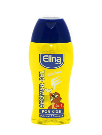 Gel de dus si sampon Elina Wellness For Kids 48051, 250ml