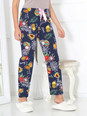 Pantaloni De Casa Coton 02