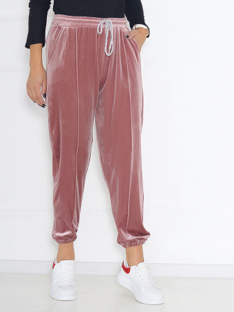 Pantaloni Din Catifea Masura Mare 02