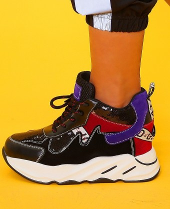Pantofi Sport Q9XX1194-23 Black