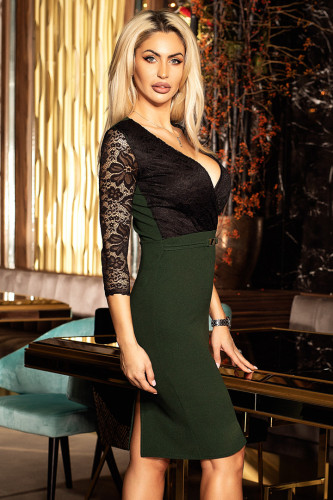 Rochie Eleganta Cerise Green 01