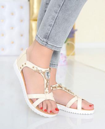 Sandale Glam Beige