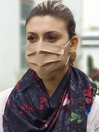 Set 5 Bucati de Masca Faciala pentru Adolescenti Cream