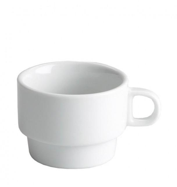 Ceasca espresso suprapozabila 75 ml for Capacidad taza cafe con leche