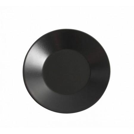 Reserve: farfurie dessert stoneware 21 cm, culoare neagra