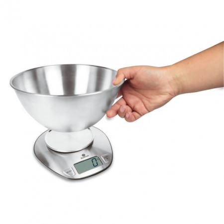 Poze Cantar digital din inox, max 5 kg