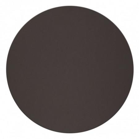 Napron din piele, diametru 34 cm-negru
