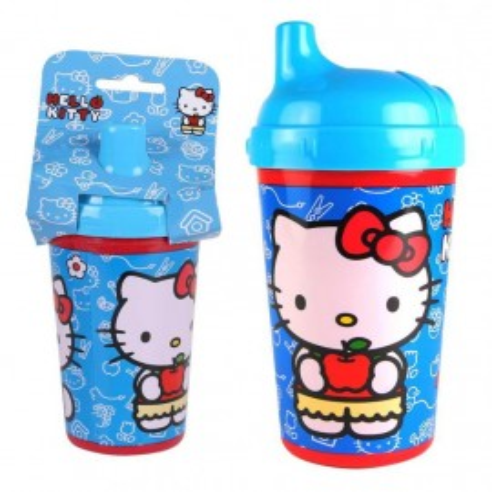 Pahar cu capac pentru copii Hello Kitty, 300 ml