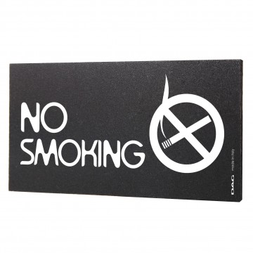 Poze Semn indicator No Smoking, 8x15 cm