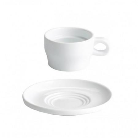 Ceasca+farfurioara espresso, 100 ml