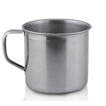 Cana inox cu toarta, 280 ml