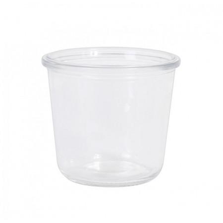 Recipient sau borcan pentru deserturi mari, 500 ml