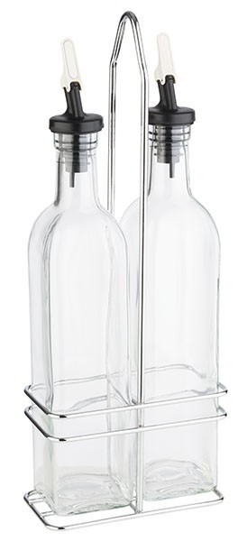 Set menaj/oliviera 2 piese, sticle de 500 ml
