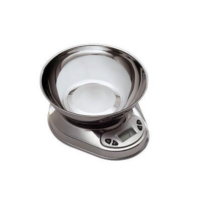 Poze Cantar digital din inox pentru bucatarie, max 5 kg