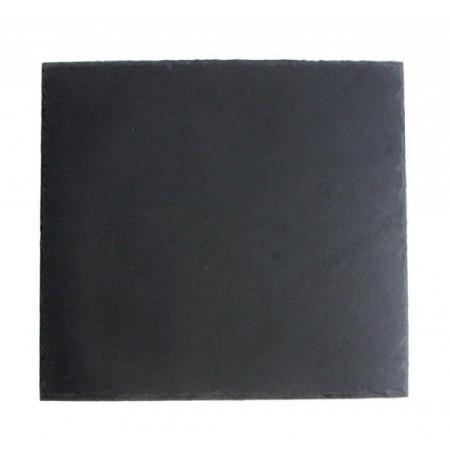 Platou piatra ardezie 31x31x0.5 cm