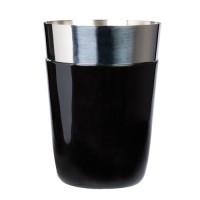 Cocktail shaker negru 450 ml