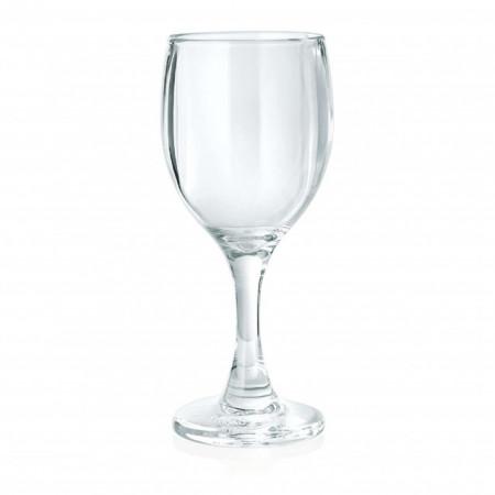 Pahar apa/vin, cu picior, policarbonat, 300 ml