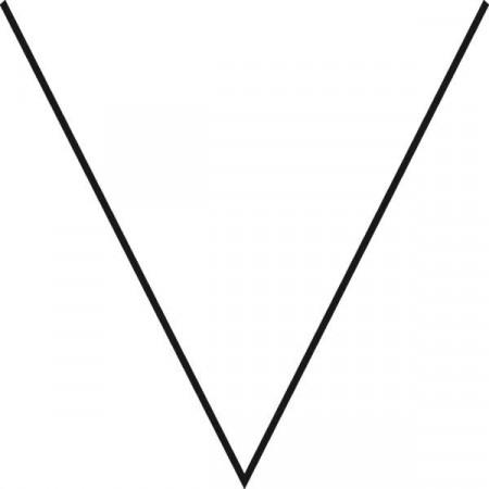 Terrine forma V, L=26 cm, 700 ml