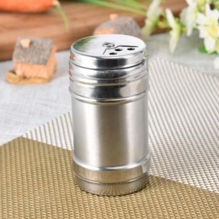 Dispenser inox mare pentru condimente, 14x6 cm