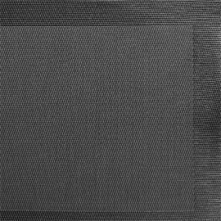Napron Pvc Culoare Neagra  45 X 33 Cm Incadrat